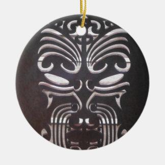 Ornamento De Cerâmica design maori 3