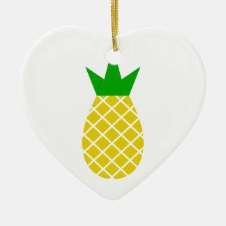 Ornamento De Cerâmica Design moderno do abacaxi