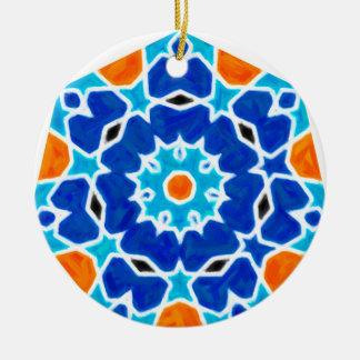 Ornamento De Cerâmica Design oriental abstrato