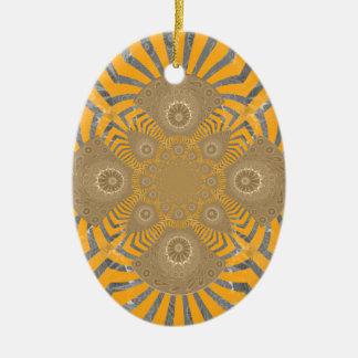 Ornamento De Cerâmica Design simétrico surpreendente nervoso bonito do