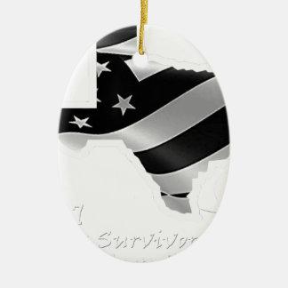 Ornamento De Cerâmica Design txt.gif branco de Harvey