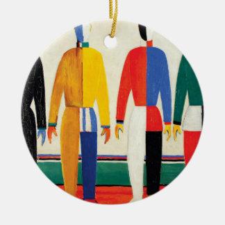 Ornamento De Cerâmica Desportistas por Kazimir Malevich