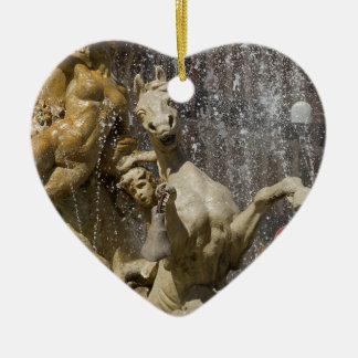 Ornamento De Cerâmica Detalhe de d'Artemide de Fontana, Ortigia