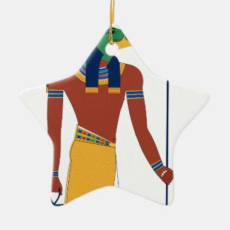 Ornamento De Cerâmica Deus do crocodilo de Sobek