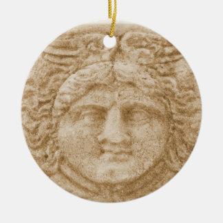 Ornamento De Cerâmica Deus grego HERMES