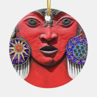Ornamento De Cerâmica Deusa