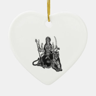 Ornamento De Cerâmica Deusa de Shiva