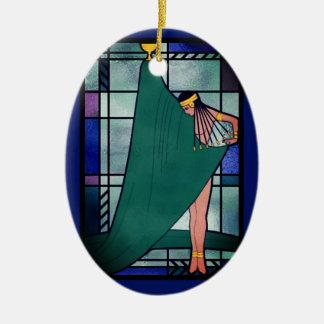 Ornamento De Cerâmica Deusa do alvorecer