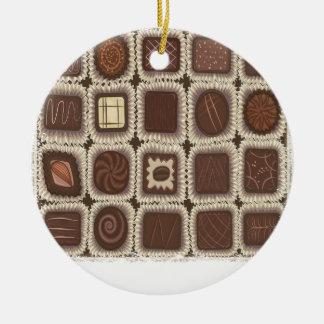 Ornamento De Cerâmica Dia da hortelã do chocolate - dia da apreciação