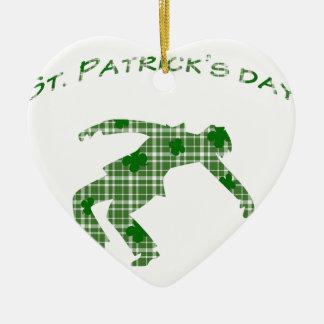 Ornamento De Cerâmica Dia do St. Patricks