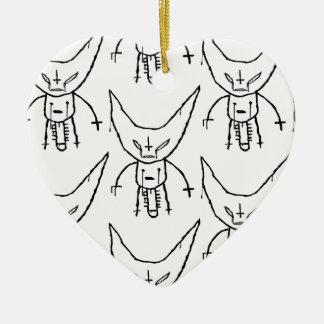 Ornamento De Cerâmica Diabo Dik de ZEF