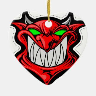Ornamento De Cerâmica Diabo dos desenhos animados