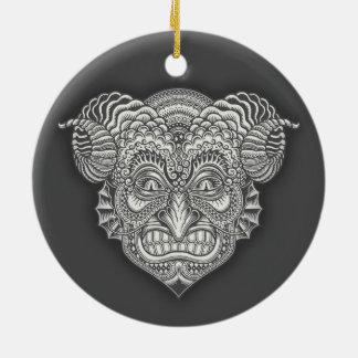 Ornamento De Cerâmica Diabo nos detalhes