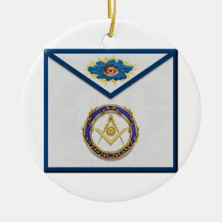Ornamento De Cerâmica diácono superior seniordeaconMasonic Apronapron