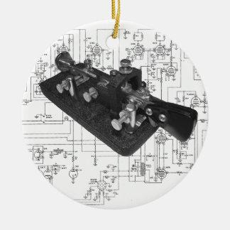 Ornamento De Cerâmica Diagrama esquemático chave de rádio do código