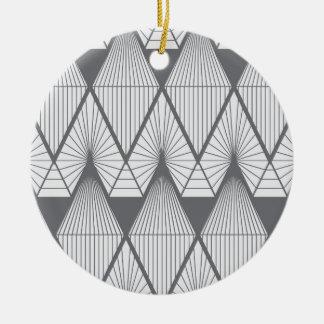 Ornamento De Cerâmica Diamantes brancos