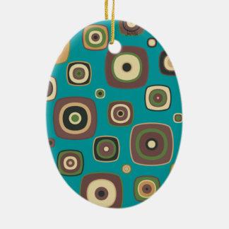 Ornamento De Cerâmica DIamod no quadrado