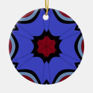 Ornamento De Cerâmica dias chuvosos sob céus do guarda-chuva
