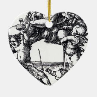 Ornamento De Cerâmica Die_Hexe_ (Albrecht_Dürer)