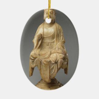 Ornamento De Cerâmica Dinastia de Buddha - de Tang (618-907)
