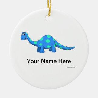 Ornamento De Cerâmica Dino - homem