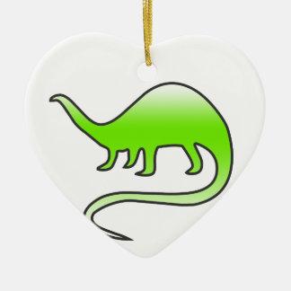 Ornamento De Cerâmica dinossauro bonito