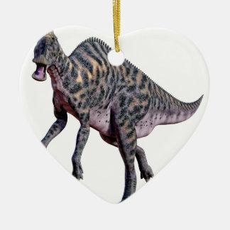 Ornamento De Cerâmica Dinossauro de Saurolophus