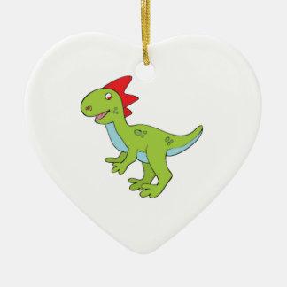 Ornamento De Cerâmica dinossauro do rex do lagarto