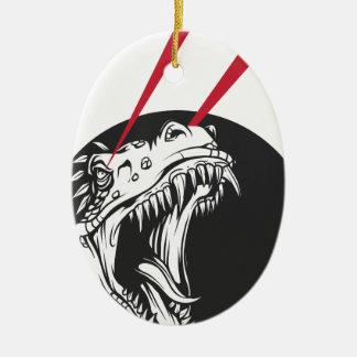 Ornamento De Cerâmica dinossauro selvagem
