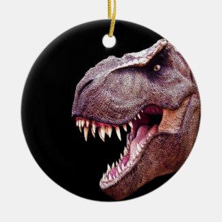 Ornamento De Cerâmica Dinossauros T-Rex