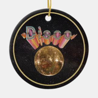 Ornamento De Cerâmica Disco a noite ausente