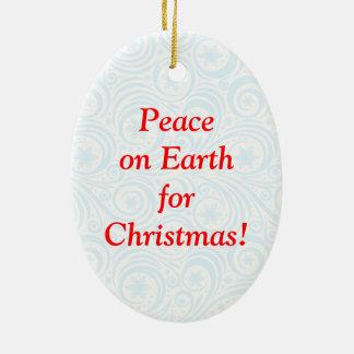 Ornamento De Cerâmica Divertimento Papai Noel & desenhos animados na