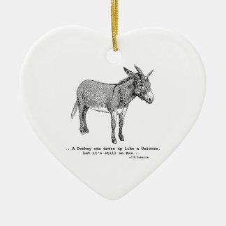 Ornamento De Cerâmica DIY UnicornDonkey ver1