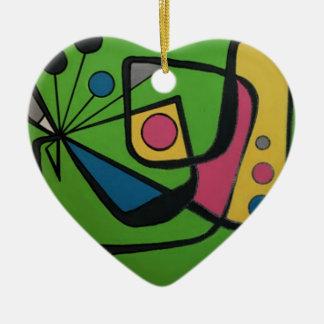 """Ornamento De Cerâmica Do """"abstrato moderno #4 meio século"""" em a"""