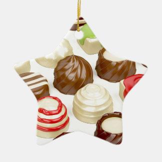Ornamento De Cerâmica Doces de chocolate