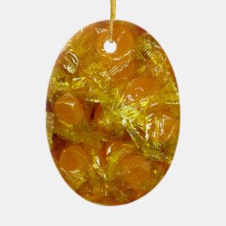 Ornamento De Cerâmica Doces do caramelo