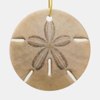 Ornamento De Cerâmica Dólar de areia