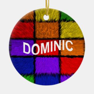 ORNAMENTO DE CERÂMICA DOMINIC