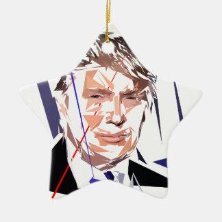 Ornamento De Cerâmica Donald Trump