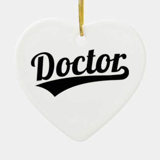 Ornamento De Cerâmica Doutor