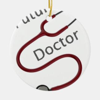 Ornamento De Cerâmica Doutor futuro Dr.