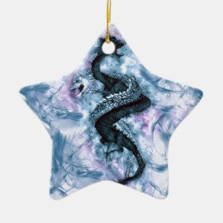 Ornamento De Cerâmica Dragão dobro 4