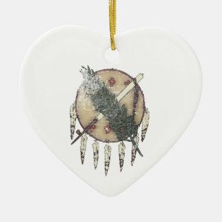 Ornamento De Cerâmica Dreamcatcher desvanecido