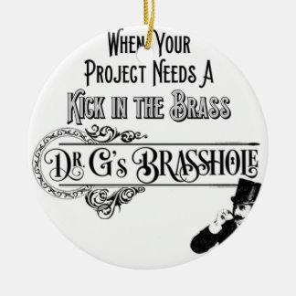 Ornamento De Cerâmica DrGsBrasshole