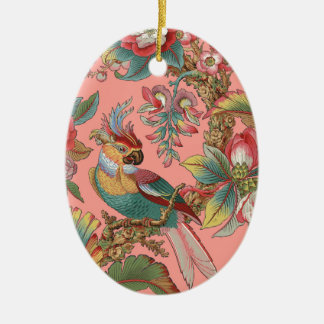 Ornamento De Cerâmica Duquesa do ~ do papagaio de Edwardian