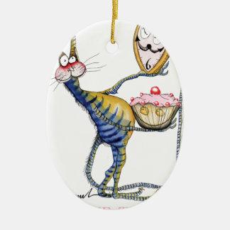 Ornamento De Cerâmica é tempo do bolo, fernandes tony
