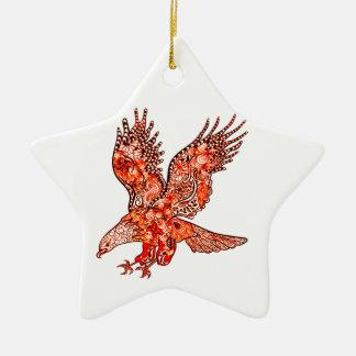 Ornamento De Cerâmica Eagle