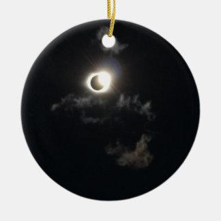 Ornamento De Cerâmica eclipse