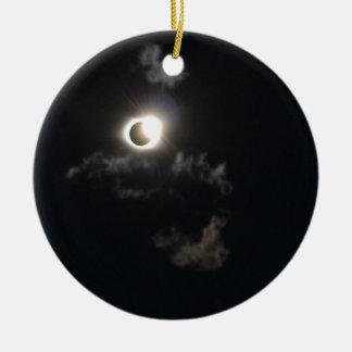 Ornamento De Cerâmica eclipse 2