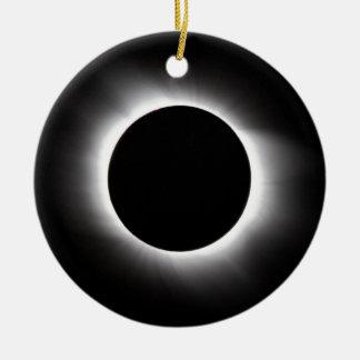 Ornamento De Cerâmica Eclipse solar